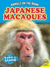 Japanese Macaques, by Pat Miller-Shroeder